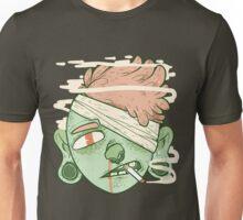 ciggy butt brain (alt) Unisex T-Shirt