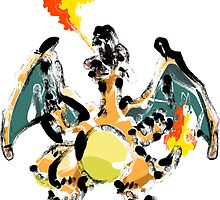 Abstract Pokemon Art by Bethany-Bailey
