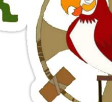 "Enchanted Tiki Talk ""It's 'Cho Time!  Sticker"