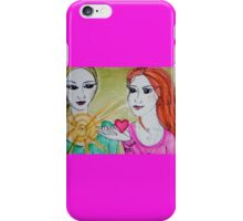Yoga Sisters iPhone Case/Skin