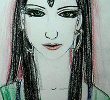 Green Yoga Devi by Shuddhachittam