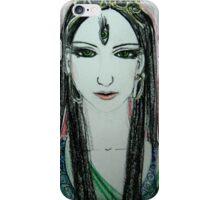 Green Yoga Devi iPhone Case/Skin