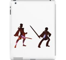 Obi Wan Kenobi VS Anakin Skywalker iPad Case/Skin