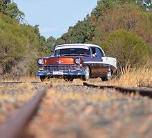 Chev On Track by Neil Bushby