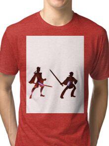 Obi Wan Kenobi VS Anakin Skywalker Tri-blend T-Shirt