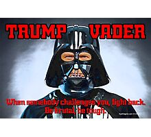 TRUMP VADER Photographic Print