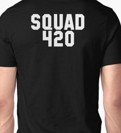 SQUAD 420 Collegiate Logo Unisex T-Shirt