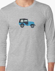 Stiles Stilinski Jeep CJ5 1976, Roscoe / Teen Wolf Long Sleeve T-Shirt