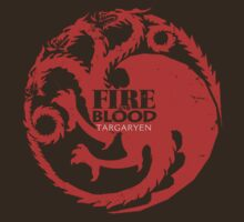 Game of Thrones … Fire & Blood by OliveB