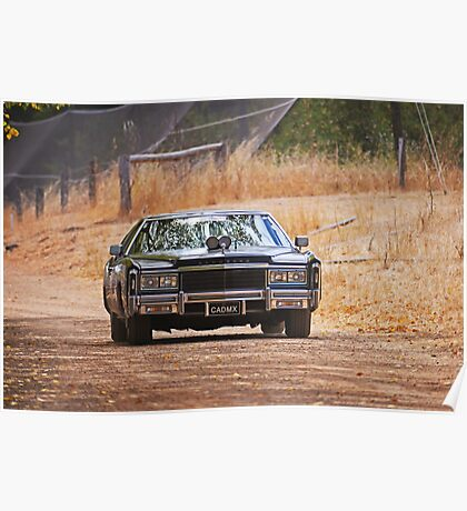 Cadillac Eldorado Poster