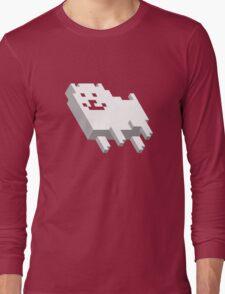Cute Pixel Dog Long Sleeve T-Shirt