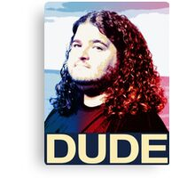Lost - Hurley (Dude) Canvas Print