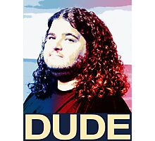 Lost - Hurley (Dude) Photographic Print