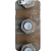 Rusting Nuts and Bolts Urbex Decay iPhone Case/Skin