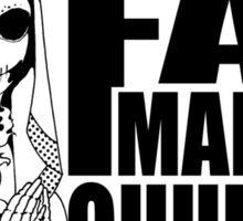 Fat Mary Church - clothing (W) Sticker