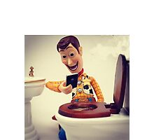 Oh Woody  Photographic Print