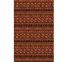 aztec pattern Photographic Print