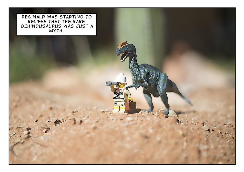 Behindusaurus by Bean Strangeways