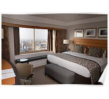 A suite view from Hilton Park Lane Hotel London Poster