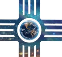 Earth Zia Sticker