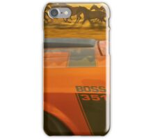 BOSS Horse  iPhone Case/Skin