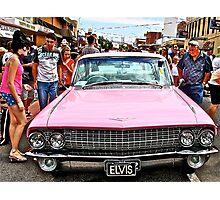 Elvis ride Photographic Print