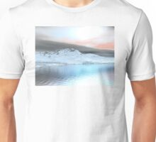Snow Covered Mountains Unisex T-Shirt
