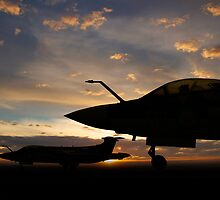 Buccaneer Sunset by J Biggadike