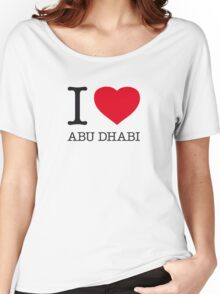 I ♥ ABU DHABI Women's Relaxed Fit T-Shirt