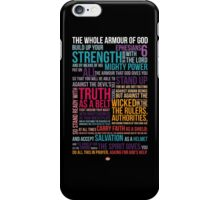The Whole Armour of God iPhone Case/Skin