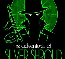 The Adventures of Silver Shroud by geryarts