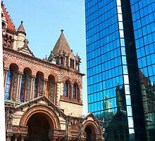 Trinity Church by Susan J. Purpura