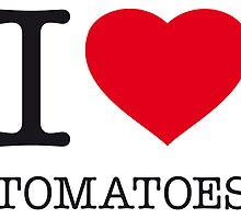 I ♥ TOMATOES by eyesblau