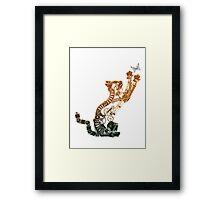 Steampunk Bronze Kitten Framed Print