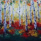 Aspen forest by jandystyle