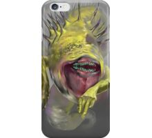 yellow worm iPhone Case/Skin