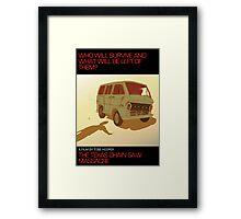 The Texas Chain Saw Massacre Framed Print