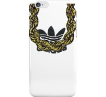Old School Gold Rope Chain and classic logo 1 iPhone Case/Skin