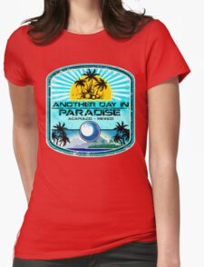 Acapulco Beach Day Womens Fitted T-Shirt