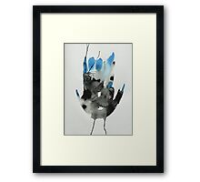 Untitled Abstract Study 43 Framed Print