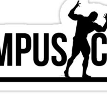 black olympus logo Sticker