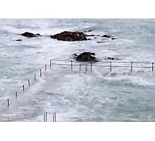 Natural Pool in Guernsey,  Channel Islands Photographic Print