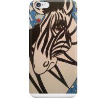 Ratchet Zebra iPhone Case/Skin