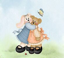 Beary Good Friends ~  by Penny Odom