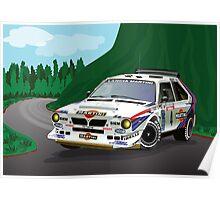 Lancia Delta S4 - Tour de Corse Poster