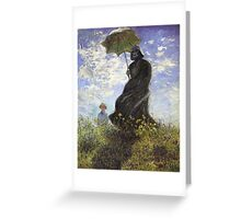 Vader with a Parasol Greeting Card