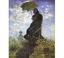 Vader with a Parasol Photographic Print