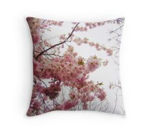 Spring Blossom Throw Pillow