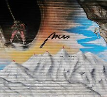 Mountain by StreetArtCinema