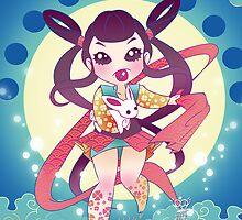 The Moon Goddess by MakoFufu